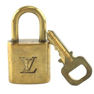 Louis Vuitton Gold Keepall Speedy Lock Key Set#335
